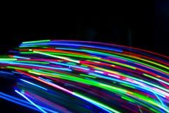Lichter der Farbeled Stockfotografie