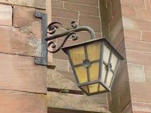Lichter der Kirche Stockfotografie