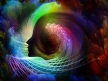 Lichter der Seele Stockbild
