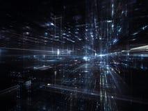 Lichter der Zukunft Stockbilder