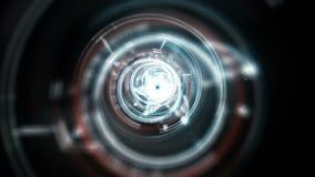Lichter des konzentrischen Kreises lizenzfreie abbildung