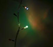 Lichter 2 des neuen Jahres lizenzfreies stockfoto