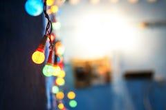 Lichter führen Sie Haupt Lizenzfreie Stockfotos
