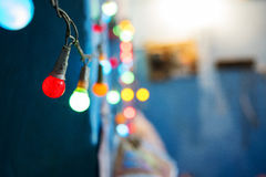 Lichter führen Sie Haupt Lizenzfreies Stockbild