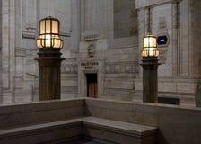 Lichter für Reisenden Stockbild