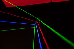 Lichter Laser, Lichter auf Stadium Lizenzfreies Stockfoto