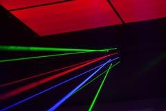 Lichter Laser, Lichter auf Stadium Lizenzfreie Stockfotografie