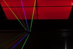 Lichter Laser, Lichter auf Stadium Lizenzfreie Stockbilder