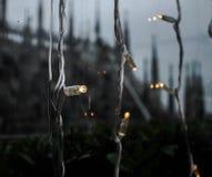 Lichter in Mailand Lizenzfreies Stockfoto