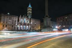 Lichter in Rom Stockfotos
