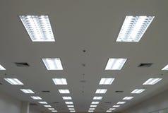 Lichter von der Decke Stockbild