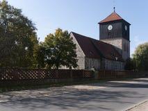 Lichterfelde-Kirche-Strasse Stock Photography