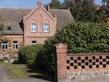 Lichterfelde-Pfarrhaus Stock Image