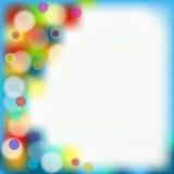 Lichterkette stockbild