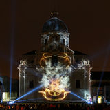 Lichtfestival Gent 2015 Royalty Free Stock Photography