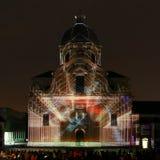 Lichtfestival Gent 2015 Stock Photo