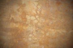 Lichtgele grunge concrete textuur Royalty-vrije Stock Foto