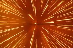 Lichtgeschwindigkeit Auszugshintergrund Lizenzfreies Stockbild
