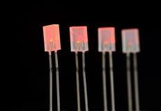 LEDs Stock Afbeelding
