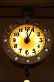 Lichtgevende klok Stock Foto