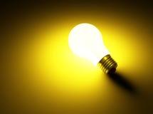 Lichtgevende lamp Royalty-vrije Stock Foto's