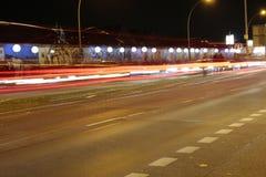 Lichtgrenze (mur léger) Photos stock