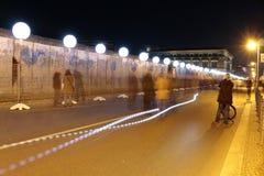 Lichtgrenze (mur léger) Images libres de droits