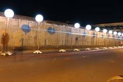 Lichtgrenze (mur léger) Photo libre de droits
