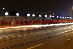 «Lichtgrenze» (mur léger) Image stock