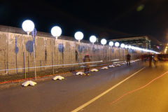 Lichtgrenze (pared ligera) Imagenes de archivo