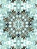 Lichtgrijze abstracte caleidoscoop Stock Afbeelding