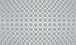 Lichtgrijze centrum georiënteerde textuur en tegel backgr Stock Afbeeldingen