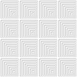 Lichtgrijze en witte abstracte geometrische achtergrond Stock Foto's
