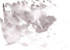 Lichtgrijze waterverfachtergrond Royalty-vrije Stock Afbeelding