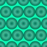 Lichtgroen optische illusiepatroon Royalty-vrije Stock Afbeelding