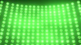Lichtgroen stadium stock video
