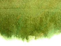 Lichtgroene canvastextuur met scharren van olieverf Stock Foto's