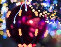 Lichthintergrund des Funkelns festlicher Weihnachts stockbilder