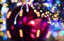 Lichthintergrund des Funkelns festlicher Weihnachts lizenzfreies stockbild