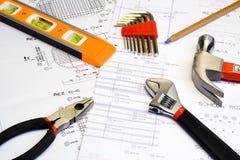 Plan und Werkzeuge