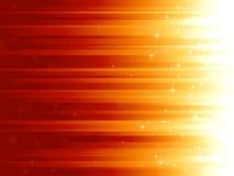Lichtpunkte und Sterne auf horizontal striped backg