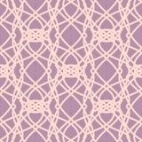 Lichtrose naadloos patroon met ornamenten Royalty-vrije Stock Fotografie