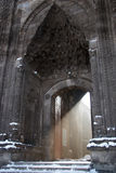 Lichtstraal van de Turkse moskeeingang Royalty-vrije Stock Foto's