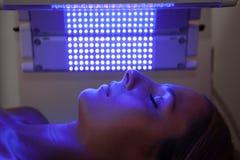 Lichttherapiesitzung Lizenzfreie Stockbilder