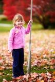 liści wylać szczęśliwy Zdjęcie Royalty Free