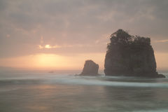 Licin strand Arkivbild