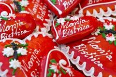 Licitars de Marija Bistrica Imagens de Stock
