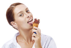 Lick Royalty Free Stock Image