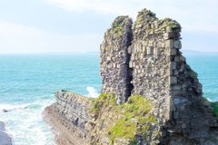 Lick castle ruins royalty free stock images