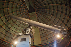 Lick Observatory. The Lick Observatory 36 inch refracting telescope on the summit of Mount Hamilton, in the Diablo Range just east of San Jose, California, USA Stock Images